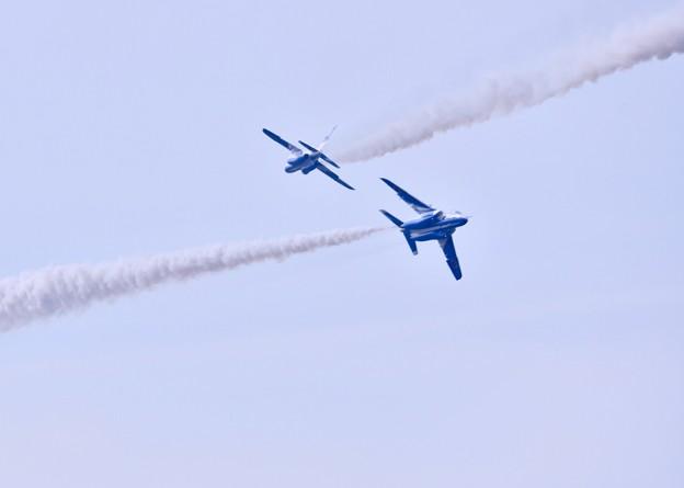 9月の撮って出し。。三沢基地航空祭予行 ブルーインパルス(2)