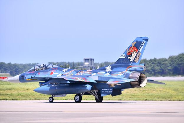 9月の撮って出し。。三沢基地航空祭 三沢での最後の航空祭第3飛行隊F-2記念塗装機 AGG (1)