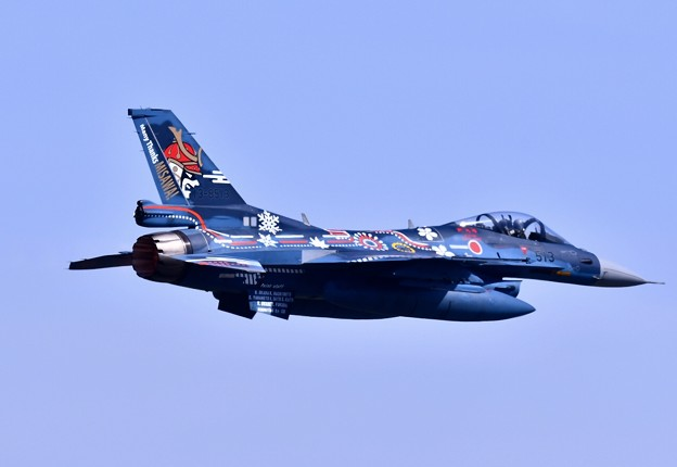 9月の撮って出し。。三沢基地航空祭 三沢での最後の航空祭第3飛行隊F-2記念塗装機 AGG (3)