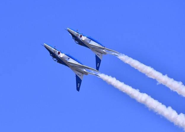 9月の撮って出し。。三沢基地航空祭ブルーインパルス展示飛行(2)