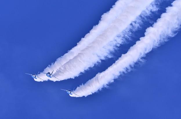 9月の撮って出し。。三沢基地航空祭ブルーインパルス展示飛行(3)