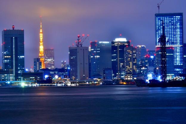 10月の撮って出し。。雨降る夜の東京夜景(1)