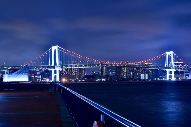 Photos: 10月の撮って出し。。雨降る夜の東京夜景(2)