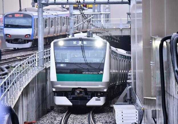 10月の撮って出し。。ついに相鉄線とJRの直通運転まで試運転JR E233 相鉄線内入線(1)