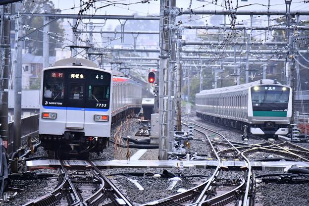 10月の撮って出し。。ついに相鉄線とJRの直通運転まで試運転JR E233 相鉄線内入線(2)
