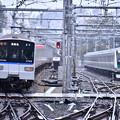 Photos: 10月の撮って出し。。ついに相鉄線とJRの直通運転まで試運転JR E233 相鉄線内入線(2)