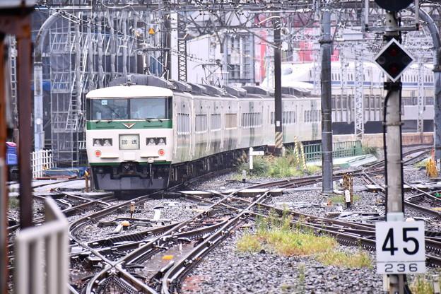 Photos: 10月の撮って出し。。そろそろ引退へJR東日本 185系踊り子号 東京駅にて(2)