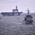 10月の撮って出し。。観艦式前のフリートウォーク週 横須賀基地一般開放 掃海艇乗船でかが見れる