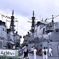 10月の撮って出し。。観艦式前のフリートウォーク週 横須賀基地一般開放 護衛艦乗って