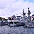 10月の撮って出し。。観艦式前のフリートウォーク週 横須賀基地一般開放 たくさんの護衛艦