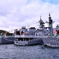 Photos: 10月の撮って出し。。観艦式前のフリートウォーク週 横須賀基地一般開放 たくさんの護衛艦