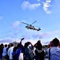 Photos: 10月の撮って出し。。観艦式前のフリートウォーク週 横須賀基地一般開放 海自ヘリコプター帰投