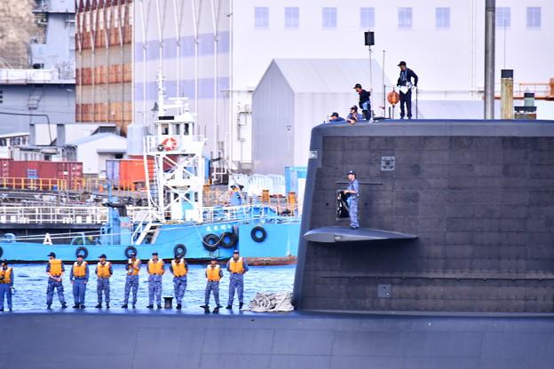 10月の撮って出し。。観艦式前のフリートウォーク週 横須賀基地一般開放 潜水艦出航。。