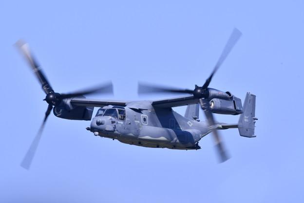 9月の撮って出し。。三沢基地航空祭 CV-22オスプレイ デモ飛行(1)