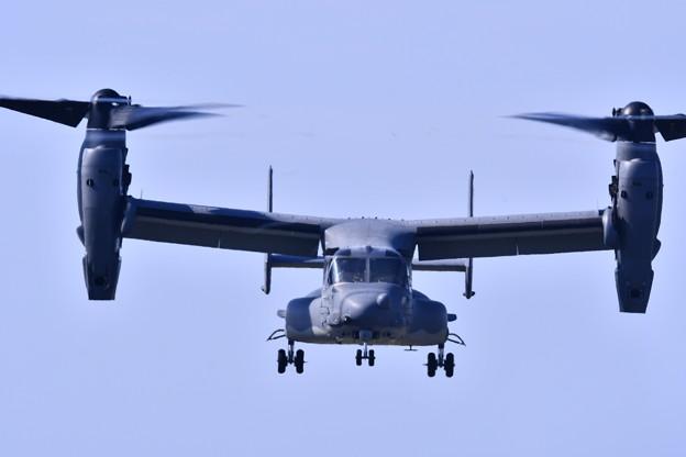 9月の撮って出し。。三沢基地航空祭 CV-22オスプレイ デモ飛行(3)