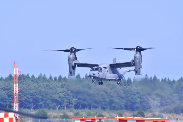 9月の撮って出し。。三沢基地航空祭 CV-22オスプレイ デモ飛行(4)