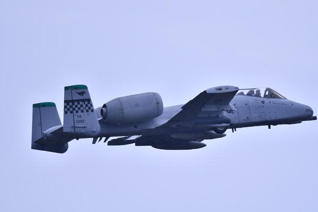 9月の撮って出し。。三沢基地航空祭翌日 オーサンへ帰投 A-10サンダーボルト (2)