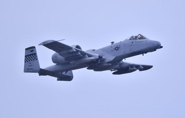 9月の撮って出し。。三沢基地航空祭翌日 オーサンへ帰投 A-10サンダーボルト (3)
