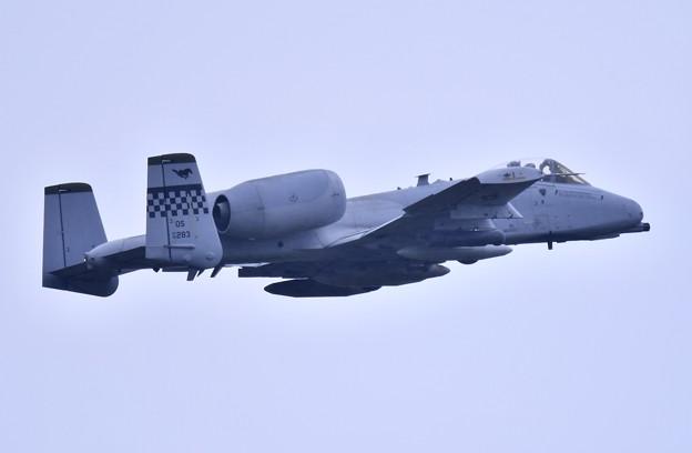 9月の撮って出し。。三沢基地航空祭翌日 オーサンへ帰投 A-10サンダーボルト (4)