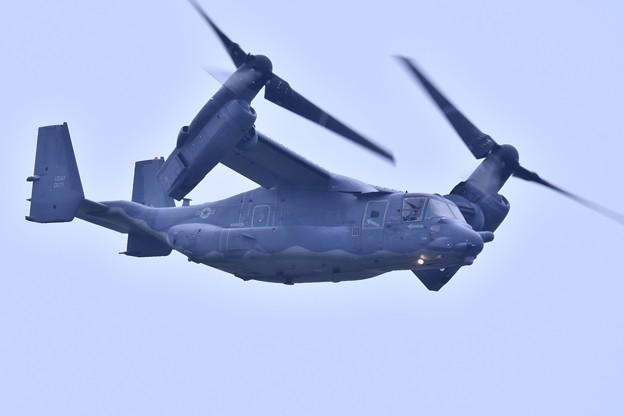 9月の撮って出し。。横田へ帰投 CV-22オスプレイ (1)