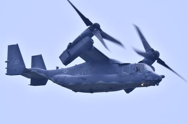 9月の撮って出し。。横田へ帰投 CV-22オスプレイ (2)
