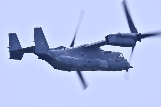 9月の撮って出し。。横田へ帰投 CV-22オスプレイ (3)