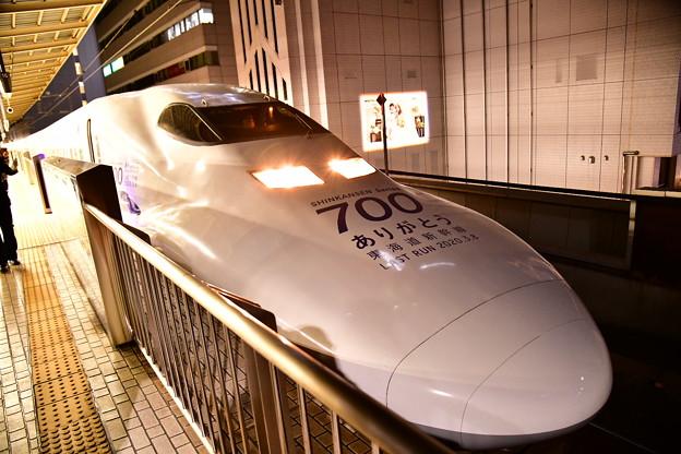 20200224 東海道新幹線ラストランへ700系(1)