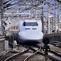 Photos: 20200222 ノーマル車輌700系のぞみB編成 小田原駅通過風景(2)