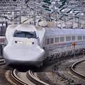 Photos: 20200222 ノーマル車輌700系のぞみB編成 小田原駅通過風景(3)