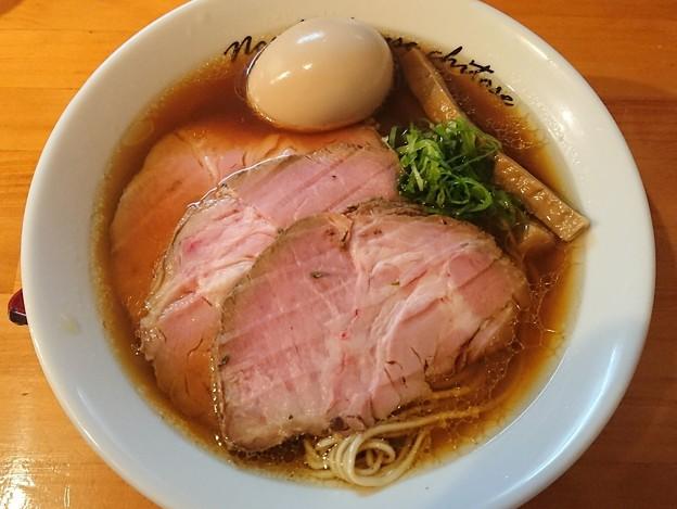 180531 ちとせ@新宿区~「出汁醤油+ローストポーク2枚」