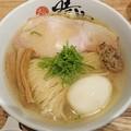 180612 時雨@横浜市中区~「塩蕎麦+出汁たまご」
