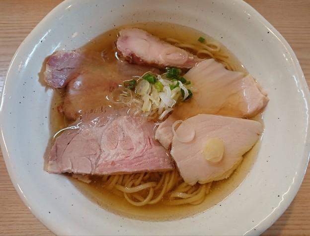 180918-2 鶏谷@京都市右京区~「鯖の塩鶏そば」