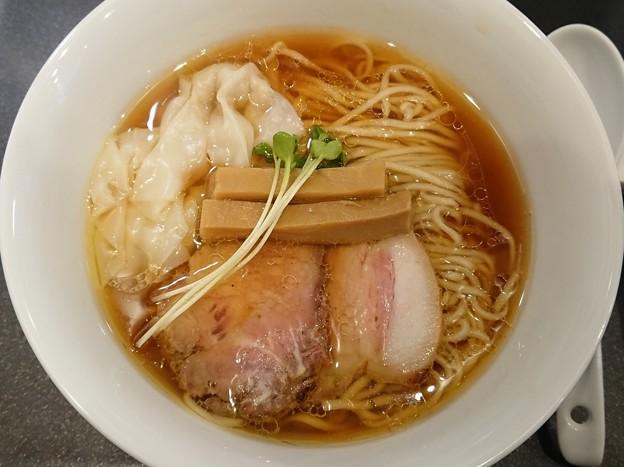 181129 やまぐち@新宿区~「鶏そば+鶏ワンタン」