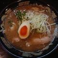 200116 魚と豚と黒三兵@新宿区~「魚豚骨ラーメン」