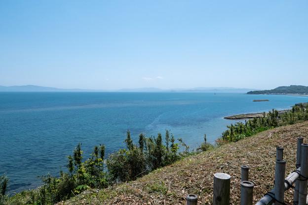 島原・原城跡の白洲