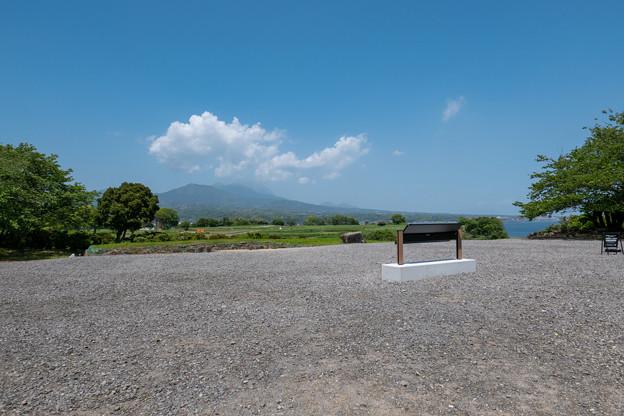 島原・原城跡からの雲仙
