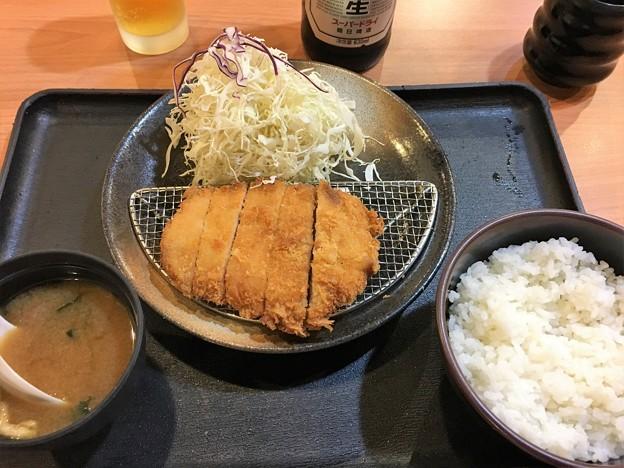 まつのや トンカツ定食 (6)
