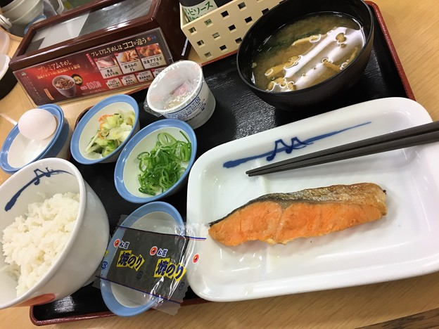 松屋 朝めし (3)