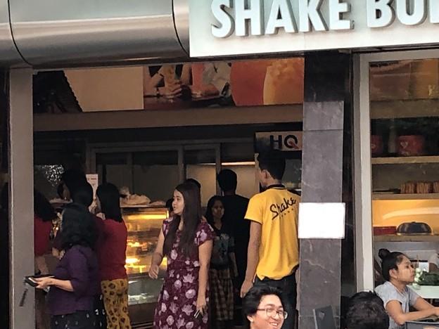 こじゃれたカフェ SHAKE BUBBLE TEA (1)