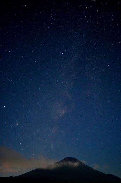 山頂から星の河