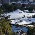 Photos: 水前寺富士の雪化粧 2020年12月31日