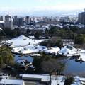 Photos: 水前寺成趣園の雪景色