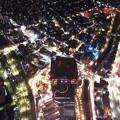 写真: 上空から