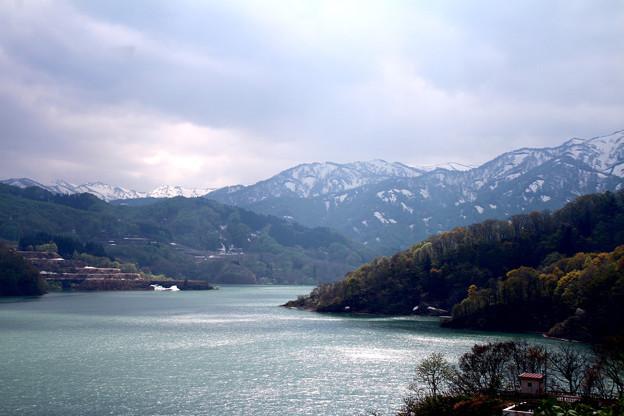 写真: 月山湖