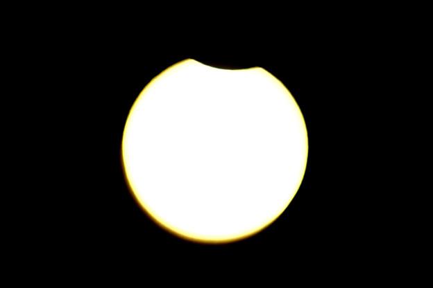 部分日食 8時53分