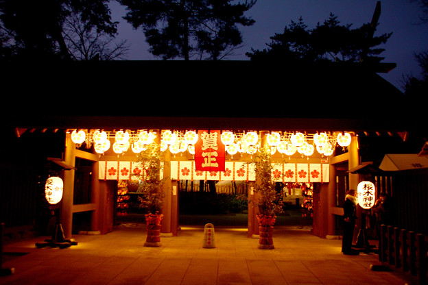 写真: 桜木神社 千葉県野田市
