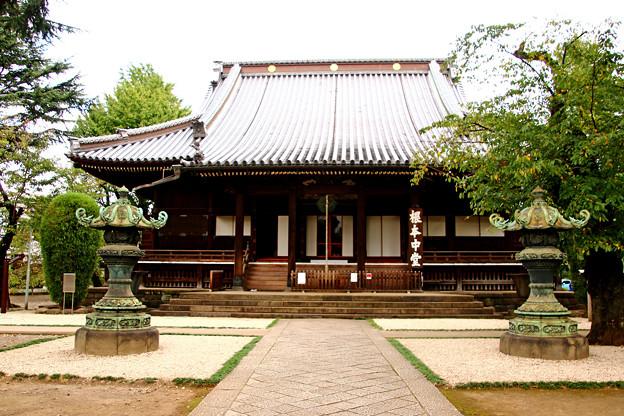 上野寛永寺根本中堂