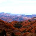 Photos: 秩父の山々(3枚の合成)