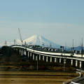 Photos: 富士に続く道