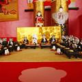 Photos: 和紙人形・折り紙展